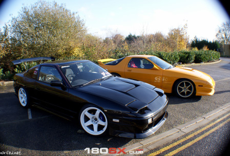 Nissan 180sx Vertex and Dai Chan Mazda RX7 FC