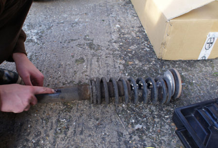 Nissan s13 coilover suspension fitting guide