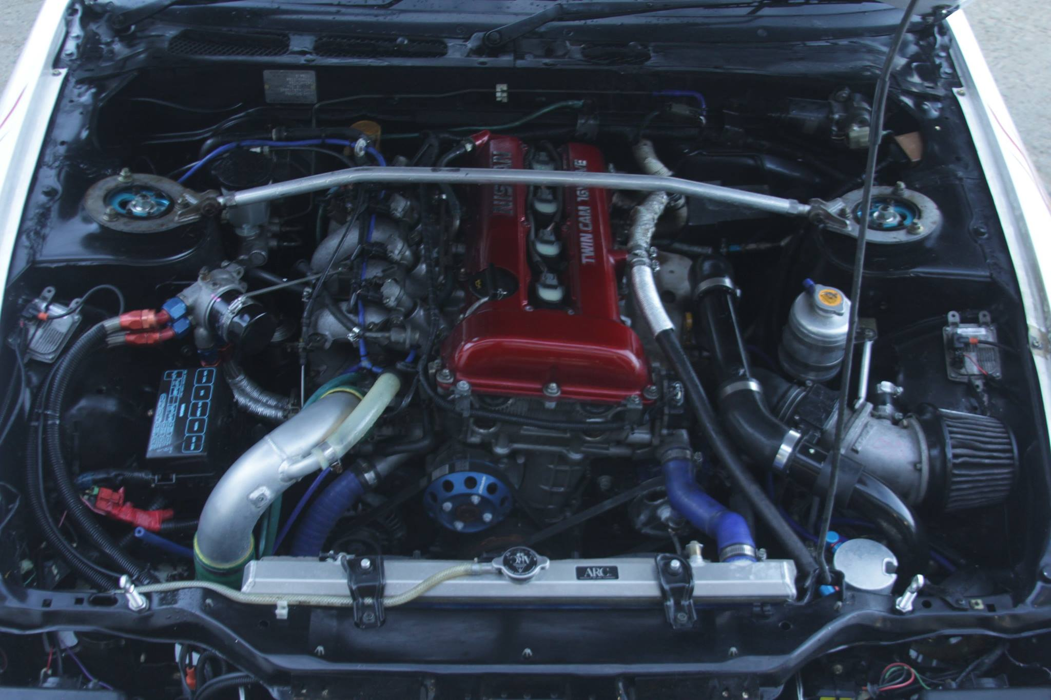 180sx for sale engine bay